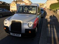 Tx4 56 plate, 5 seater, silver hackney, taxi, £6,750