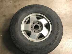 "16""Chevy truck rims set of 4"