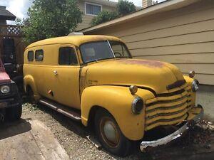 1948 Chevrolet panel van