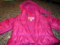 Hooded Winter jacket (size 2)