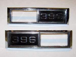 68 Chevelle 68 69 Nova Super Sport 396 side marker light bezels Edmonton Edmonton Area image 3