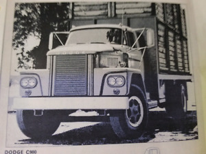1965 Dodge 900 Low Cab  truck