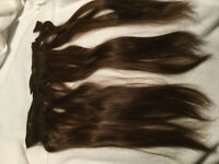 """Hair Extensions 19"""" & a clip in pony tail extension"""