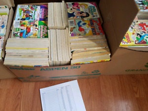 HUGE Archie Books collection (over 600)