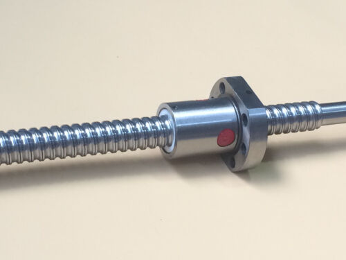 CAPT2011 RM1605 Ballscrew L525mm with Ball Nut Both end Machined double nut