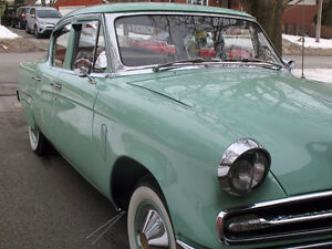 An IMPECCABLE 1953 STUDEBAKER REGAL 6 cyl 3 spd overdrive