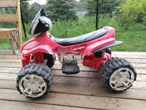 Kid's 12-Volt Battery-Powered Ride-On Motorcycle