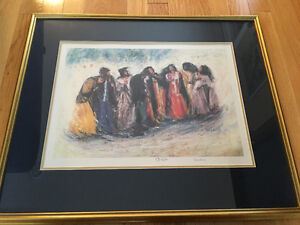 Middle Eastern Artist Print