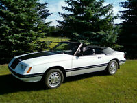 1984 Ford Mustang LX Converitble