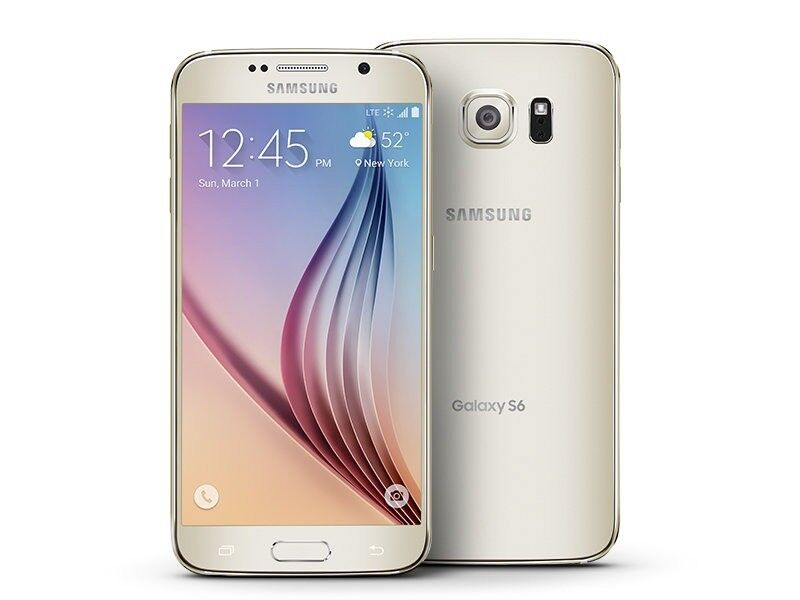 samsung s6 Gold like brand new come with free case+glass protector