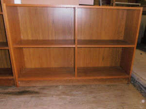 Reduced X's 2   -- 2 BOOK CASES