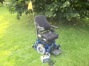 Electric wheelchair. Quickie Xperience