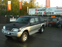 2003 MITSUBISHI L200 2.5 TD 4LIFE 4WD DOUBLE CAB PICK UP ONLY 94,016 MILES