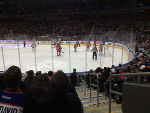 Oilers Home Game Tickets $375/pair