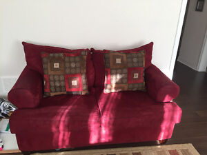 1 love seat, 1 Three seater and 1 recliner for sale