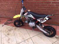 Pitbike stomp pit bike 110cc