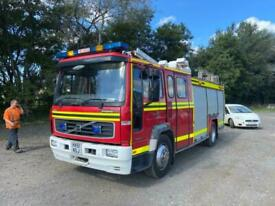 Volvo FL6 FIRE TRUCK LOVELY CONDITION 88,621 MILES Choice available