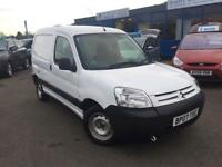 Citroen Berlingo Van Hdi 600 Lx Swb H/C Cdv Car Derived Van 1.6 Manual Diesel