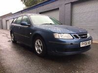 Saab 9-3 linear DT estate mot may 2017 main agent trade in