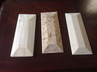 Wood bases for model cars or planes