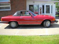 Must Sell 1977 Mercedes Convertible