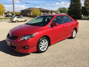 2009 Toyota Corolla Sport - Automatic - Safetied - WINTER TIRES