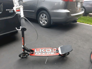 Kicktail scooter with brake very good condition