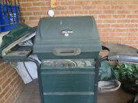 Char-Broil BBQ with gas burner
