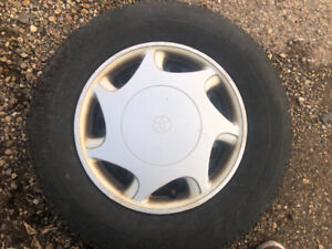 Full set new tires with rims for Toyota 5 bolt