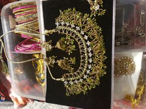 Beautiful Indian Costume Jewelry