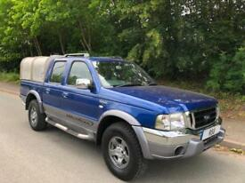 2006 06 Ford Ranger 2.5TDdi Wildtrak Double Cab - NO VAT TO PAY