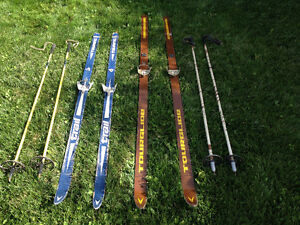 Two Sets of Cross Country Skiis and Poles Stratford Kitchener Area image 2