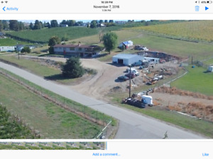 House, 4 acres and business