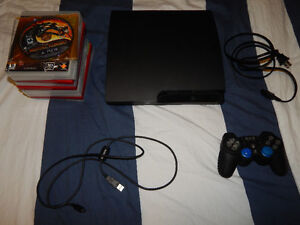PS3 With Modded Controller and Games 250$ OBO