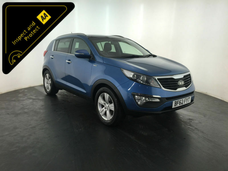 2012 62 KIA SPORTAGE KX-2 CRDI 4WD ESTATE 1 OWNER KIA SERVICE HISTORY FINANCE PX
