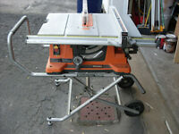 Ridgid TS2410LS  table saw