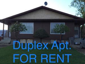 Duplex Apt. for RENT