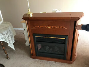 Fireplace Electric with Mantel