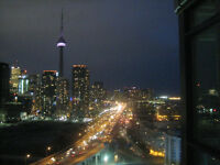 Furnished 2-Bedroom Condo Toronto Panoramic City View and Lake