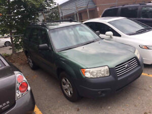 In very good shape 2006 Subaru Forester, only 239,000Km
