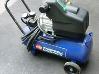 Compresseur 1,3HP  8 gallons