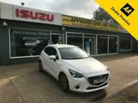 2018 Mazda 2 1.5 GT SPORT NAV PLUS 5d 89 BHP IN WHITE WITH ONLY 13700 MILES IN I