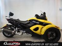 2008 Can-Am SPYDER RS SM5 - 46,14$/SEMAINE