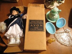 avon collectible with doll