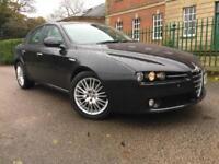 2007 Alfa Romeo 159 1.9JTDM 16v Lusso BLACK,12 MONTHS WARRANTY,12 MONTH MOT