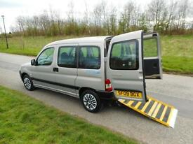 2009 Peugeot Partner Combi 1.4 *ONLY 10K* Wheelchair Disabled Accessible WAV