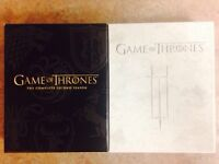 Game of Thrones Season 2 and 3 Blue Ray