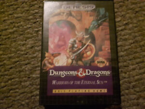 Dungeons and Dragons: Warriors of the Eternal Sun for Genesis