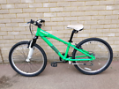 """Bike GIANT BRASS  MTB 24"""" front suspension kids teens mountain bicycle"""