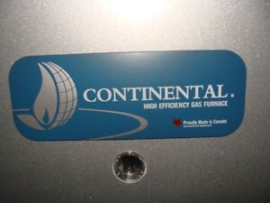 New Continental 40k High Efficiency Furnace